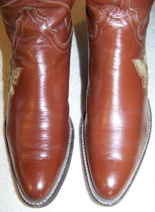 7n Vintage Justin Womens Butterfly Cowboy Boots Exotic Ebay