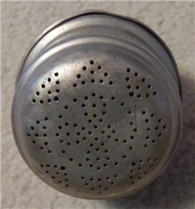 1900 antique aluminum twist lid tea ball leaf tea pot strainer infuser sieve ebay. Black Bedroom Furniture Sets. Home Design Ideas