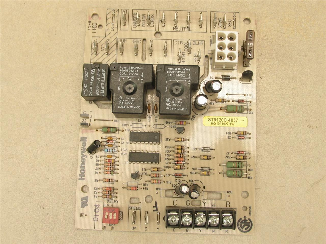 honeywell st9120c4057 furnace control circuit board Board Layout Furnace Control Circuit Thermostat Circuit Board Of