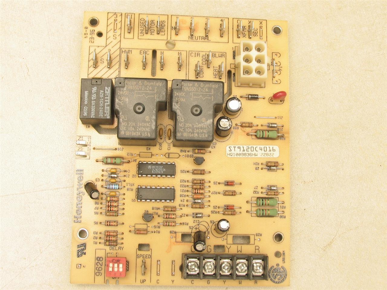 honeywell st9120c4016 furnace control circuit board
