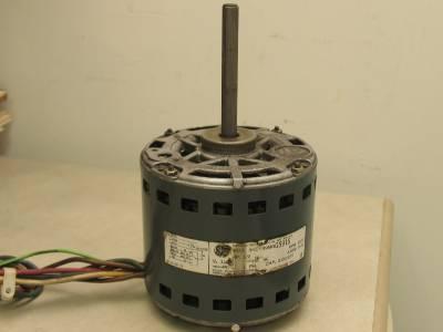 Ge motors 5kcp39mgg591s furnace blower motor 1 2 hp 1075 for 1 4 hp furnace blower motor