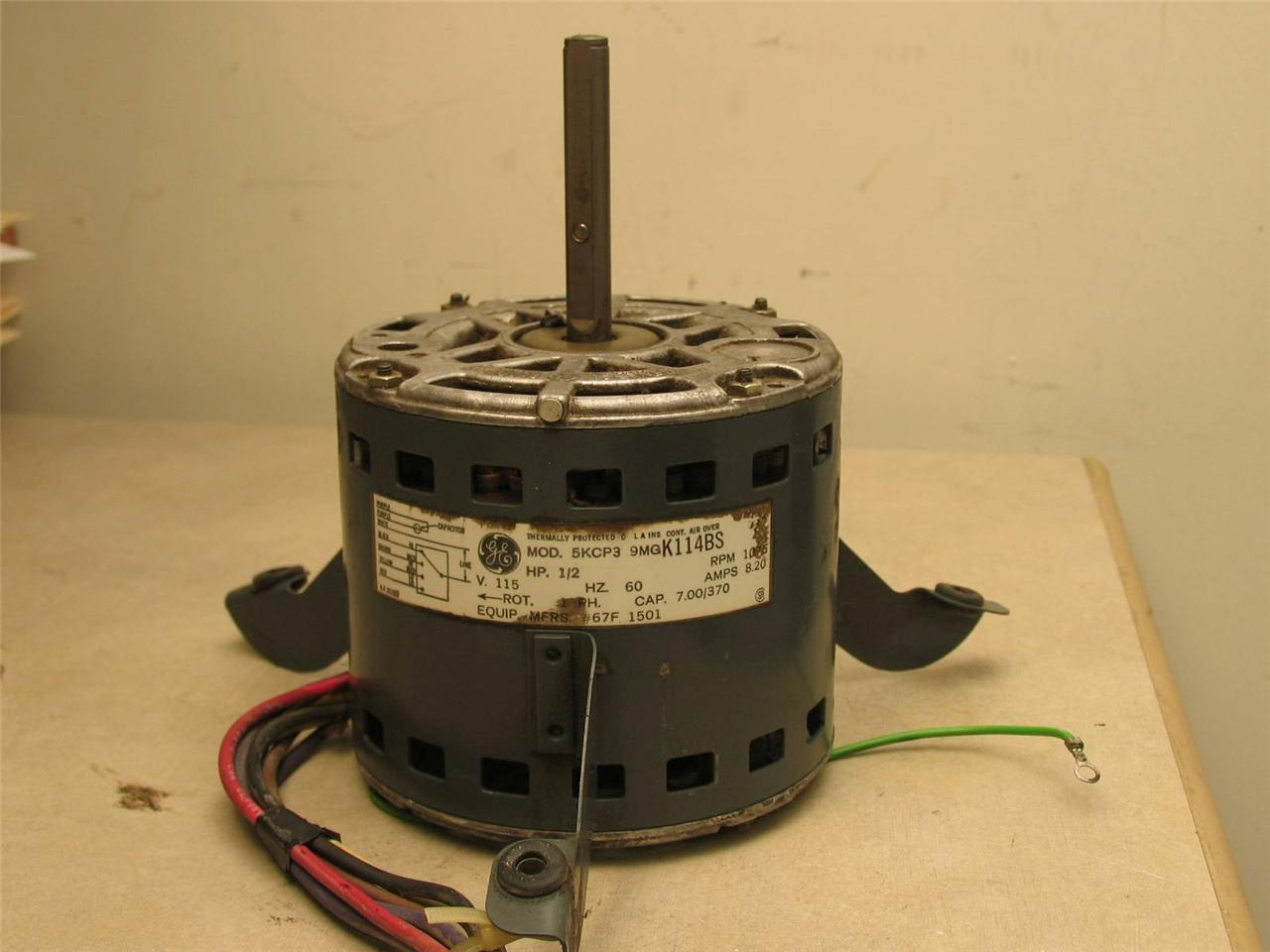 Ge Motors 5kcp39mgk114bs Furnace Blower Motor 1 2hp