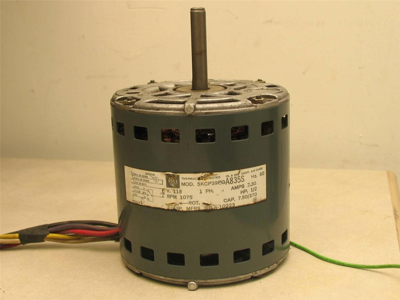 Ge Motors 5kcp39pga835s Furnace Blower Motor 1 2hp 1075rpm