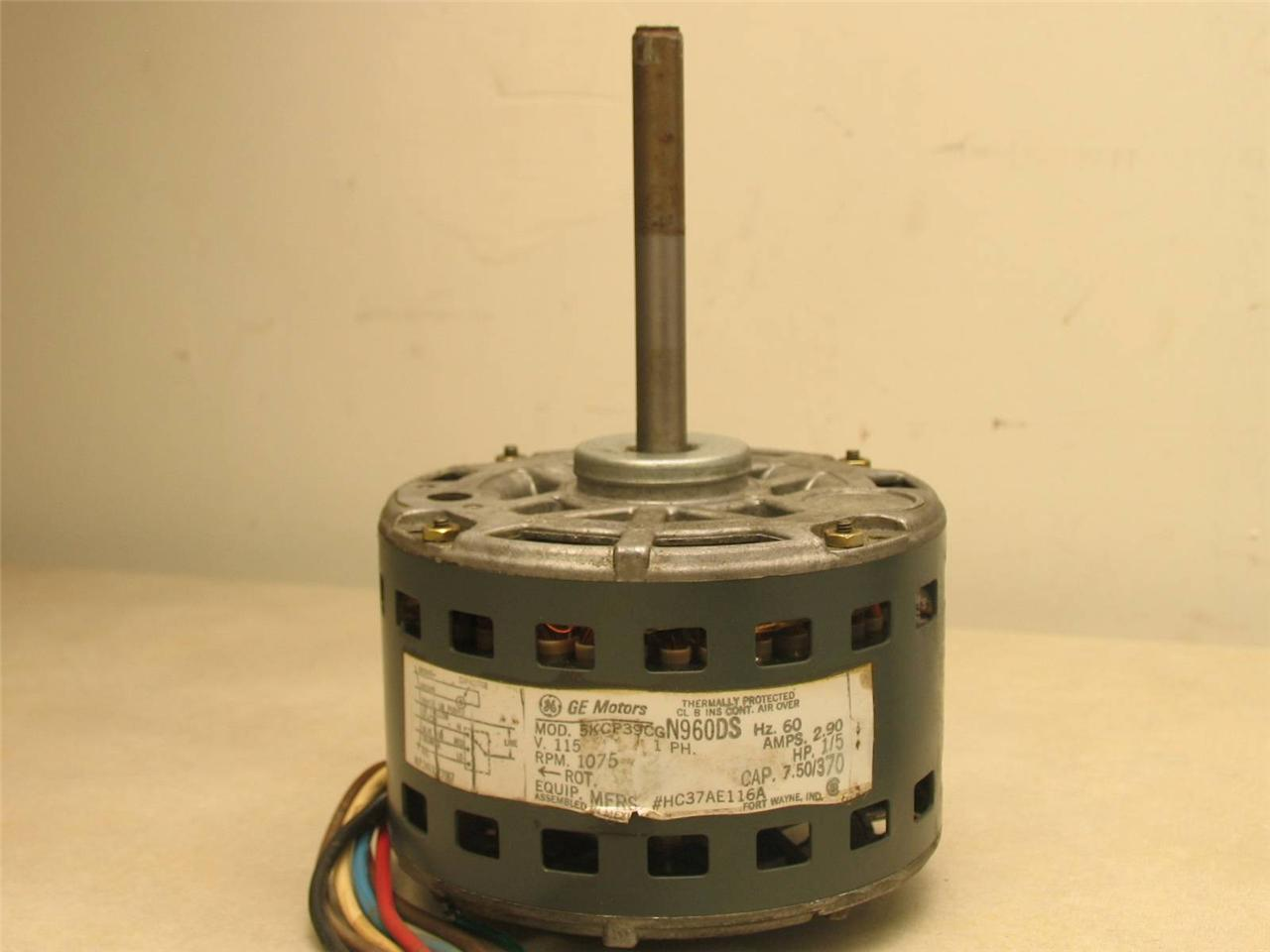 Ge Motors 5kcp39cgn960ds Furnace Blower Motor 1 5hp