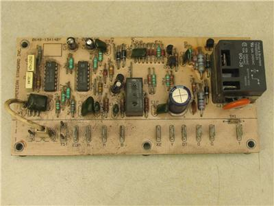 american standard trane 0602 000642 furnace control Thermostat Circuit Board Of Furnace Blower Circuit Board