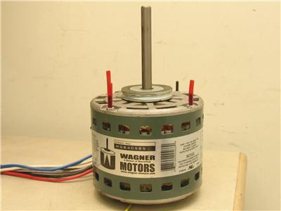 Wagner Wg840585 Blower Motor 1 3hp 115v 6 7a 60hz 1ph