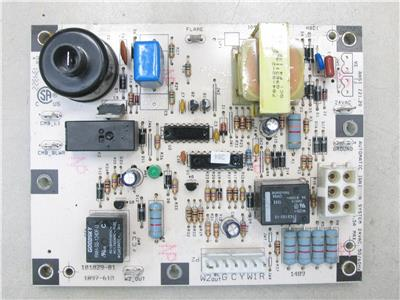 honeywell lennox ducane 1097 610 ignition control circuit