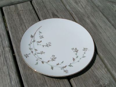 Andrea By Noritake 5524 Vintage Dinner Plate Gold China Ebay