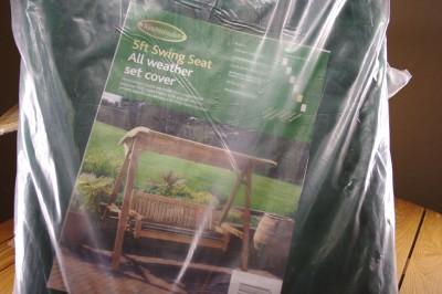 Patio Furniture Garden on Garden Patio Teak Furniture 5ft Swing Seat Cover New   Ebay