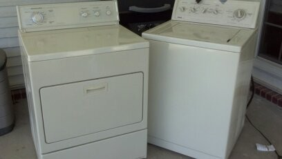 kenmore washer and kitchen aid electric dryer