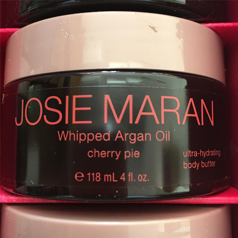 josie maran whipped argan oil body butter 4 oz you choose vanilla orange cherry ebay. Black Bedroom Furniture Sets. Home Design Ideas