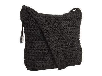 The Sak Black Crochet Handbag : NEW THE SAK CLASSIC BLACK CROCHET SMALL CROSSBODY BAG eBay