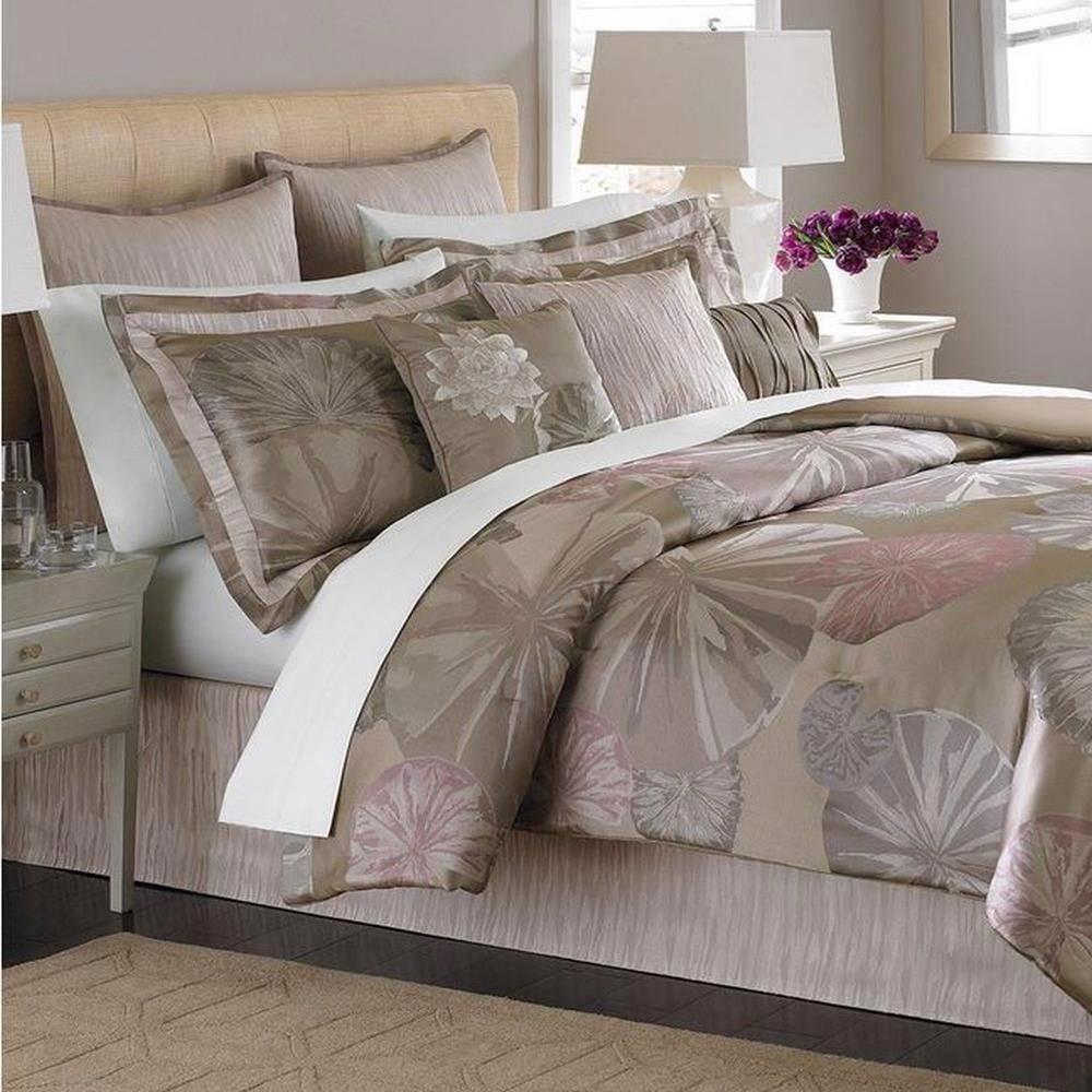 Martha stewart collection bedding 9 pc queen comforter set echo pond