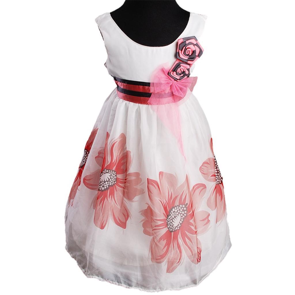 Fruehjahr-Blumenkleid-maedchen-prom-Hochzeit-Kommunionskleid-Kostuem-Kleid