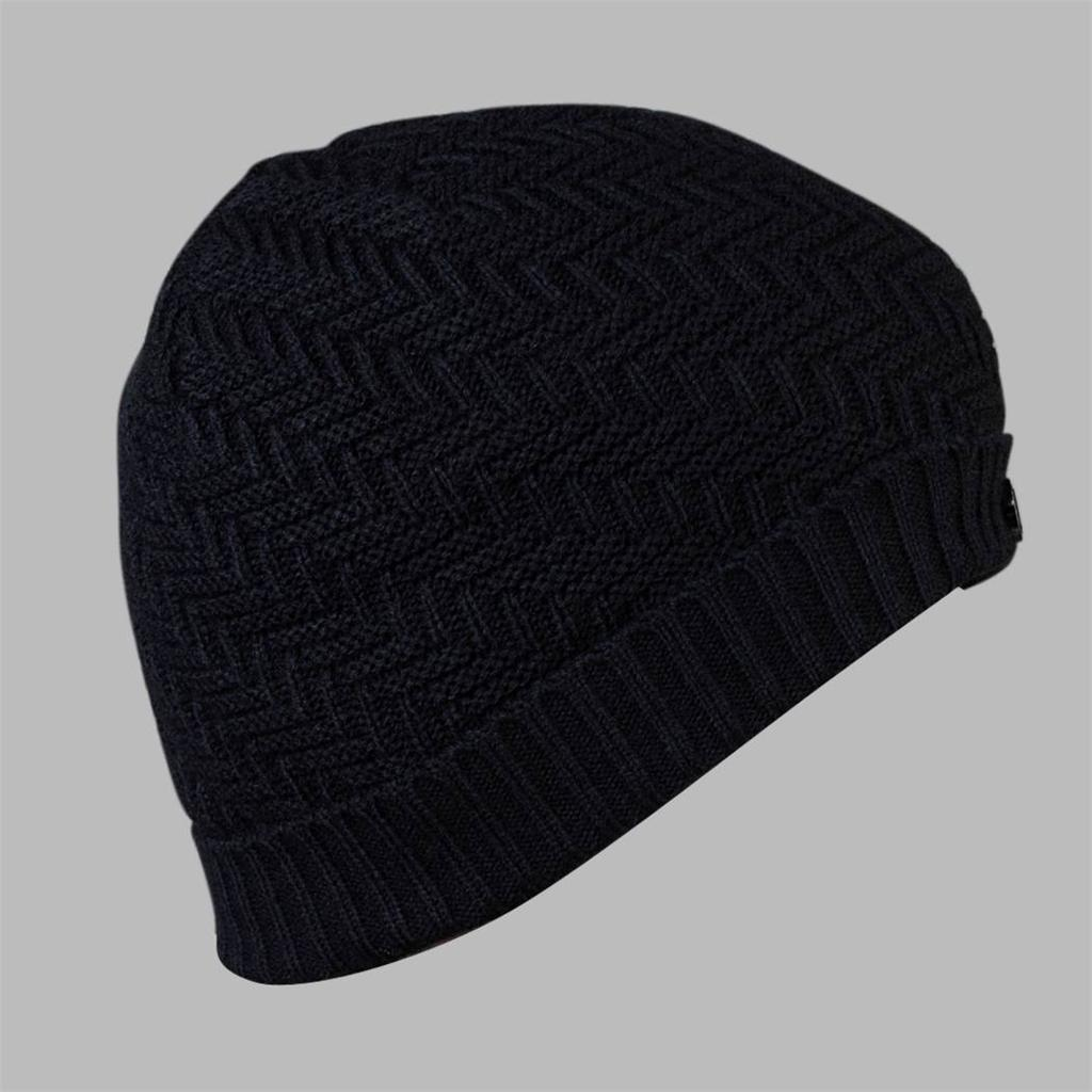 damen herren unisex schwarz dunkelgrau h keln warm winter beanie m tze h te ebay. Black Bedroom Furniture Sets. Home Design Ideas