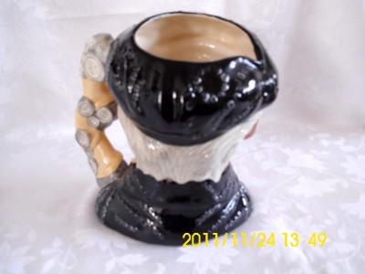 Pearly King   Royal Doulton Toby Jug   D6760   Stanley James Taylor