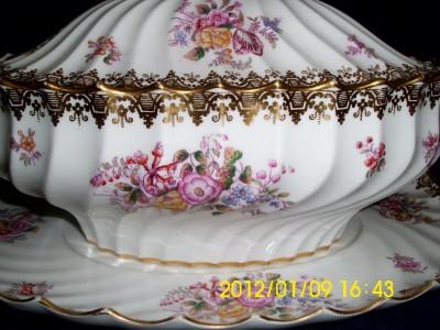 Copelands Bone China Lidded Soup Tureen & Saucer T. Goode ...