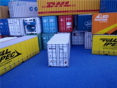 20 foot x 2 matson shipping container for ho model railway ho mn2011 ebay - Matson container homes ...