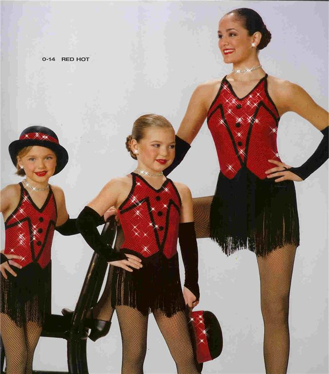RED-HOT-14-JAZZ-SKATE-PAGEANT-TAP-CLOG-DANCE-COSTUME