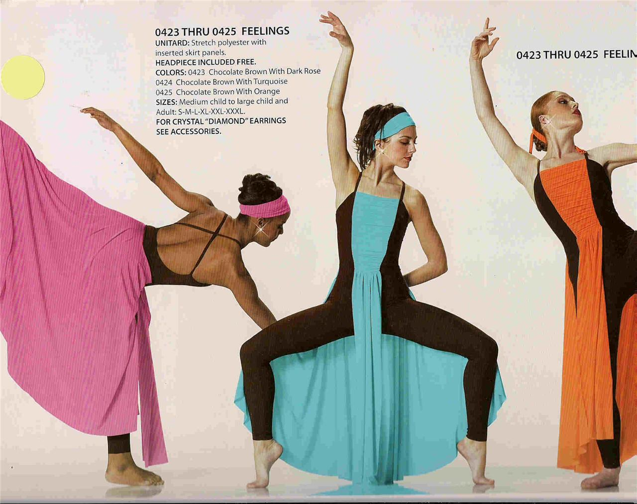 423 lyrical modern ballet dress competition dance costume pageant new