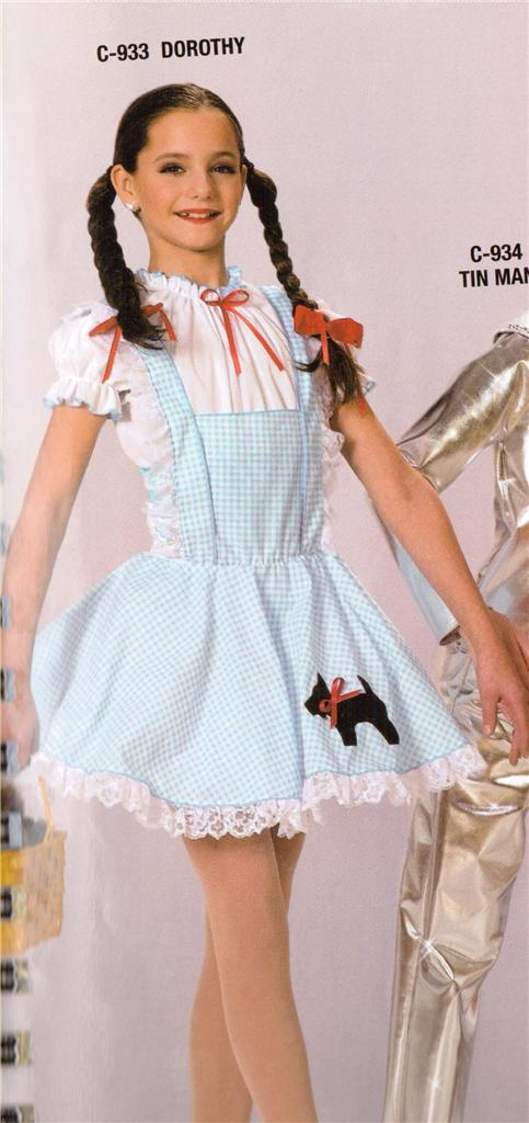 Dorothy 933 Wizard of Oz Halloween Dance New Costume Pageant ...