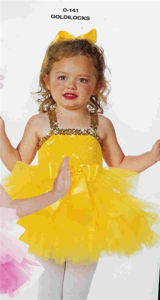 Goldilocks 141 Tap Ballet New petition Dance Costume