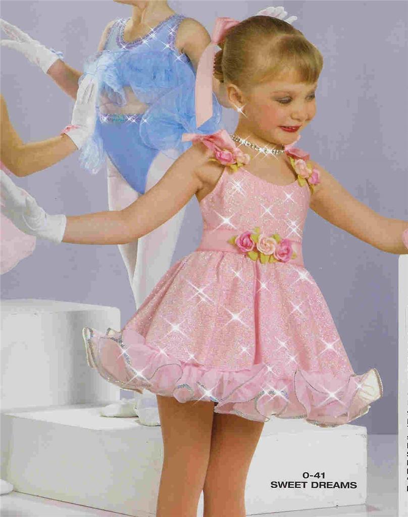 Ballet Dance Costume Tap Artstone Baby Doll Pageant Dress ...