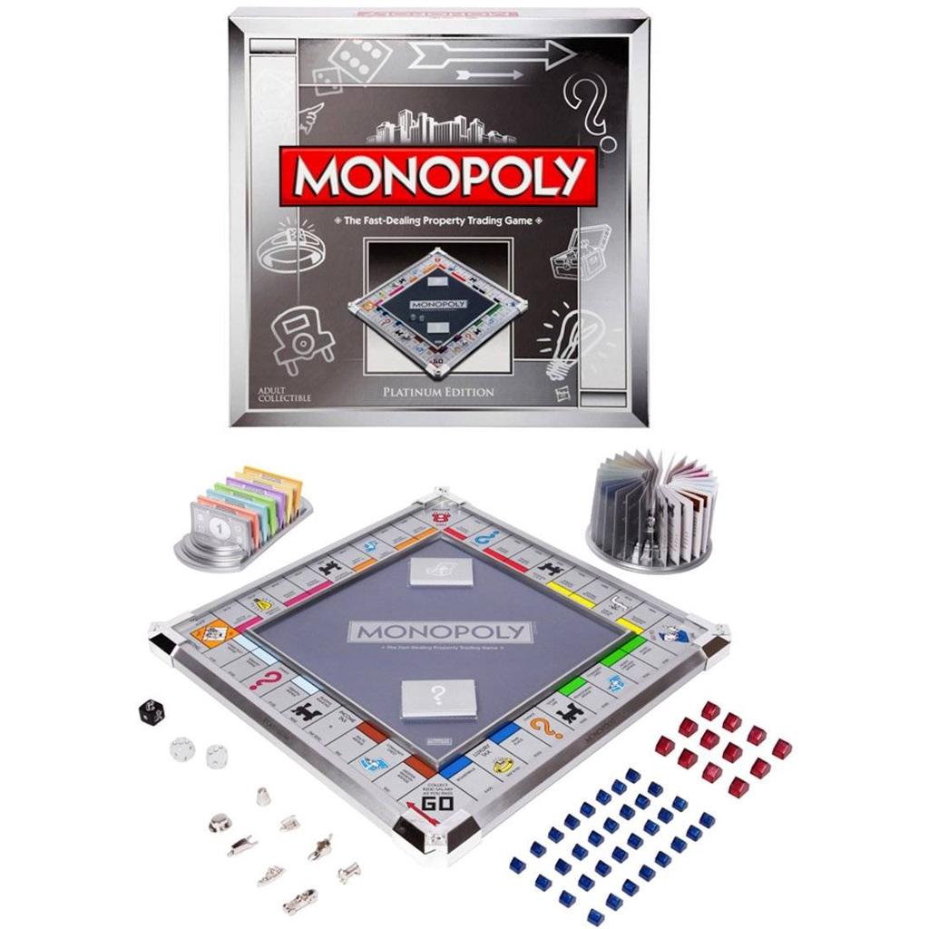 Edition Platinum: Hasbro Monopoly Platinum Collector's Edition Board Game