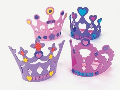 how to make craft foam crown