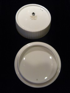 Vintage wedgewood ice rose bone china trinket box floral Wedgewood designs
