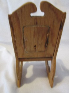 Vintage lot of 5 doll furniture wood chairs wicker clothes for Furniture 4 a lot less