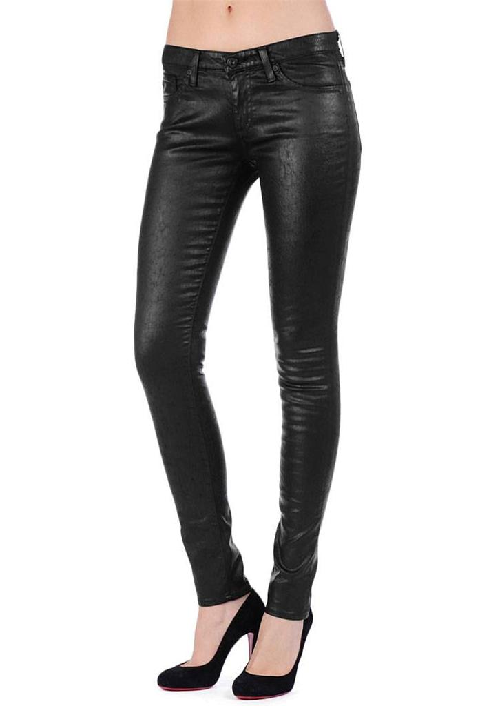 """AG Adriano Goldschmied """"The Legging"""" Leatherette Leather ..."""