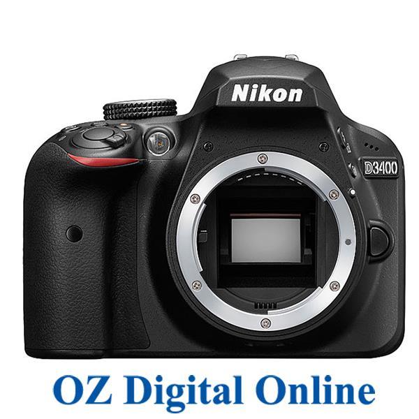 New Nikon D3400 DSLR Full HD 24.2MP Digital Camera Body