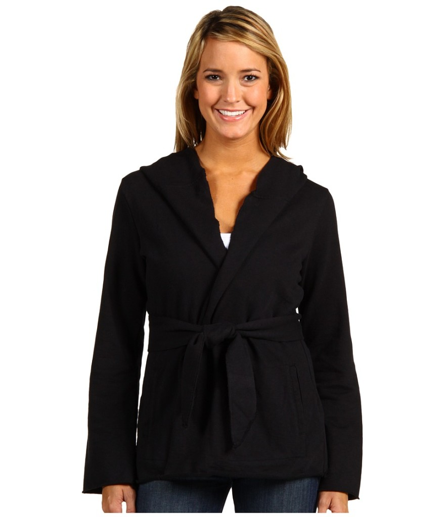 NWT-LUCKY-BRAND-Womens-Jingo-Hooded-Wrap-Cardigan-NAVY-RED-BLACK-CREAM-M-L-XL