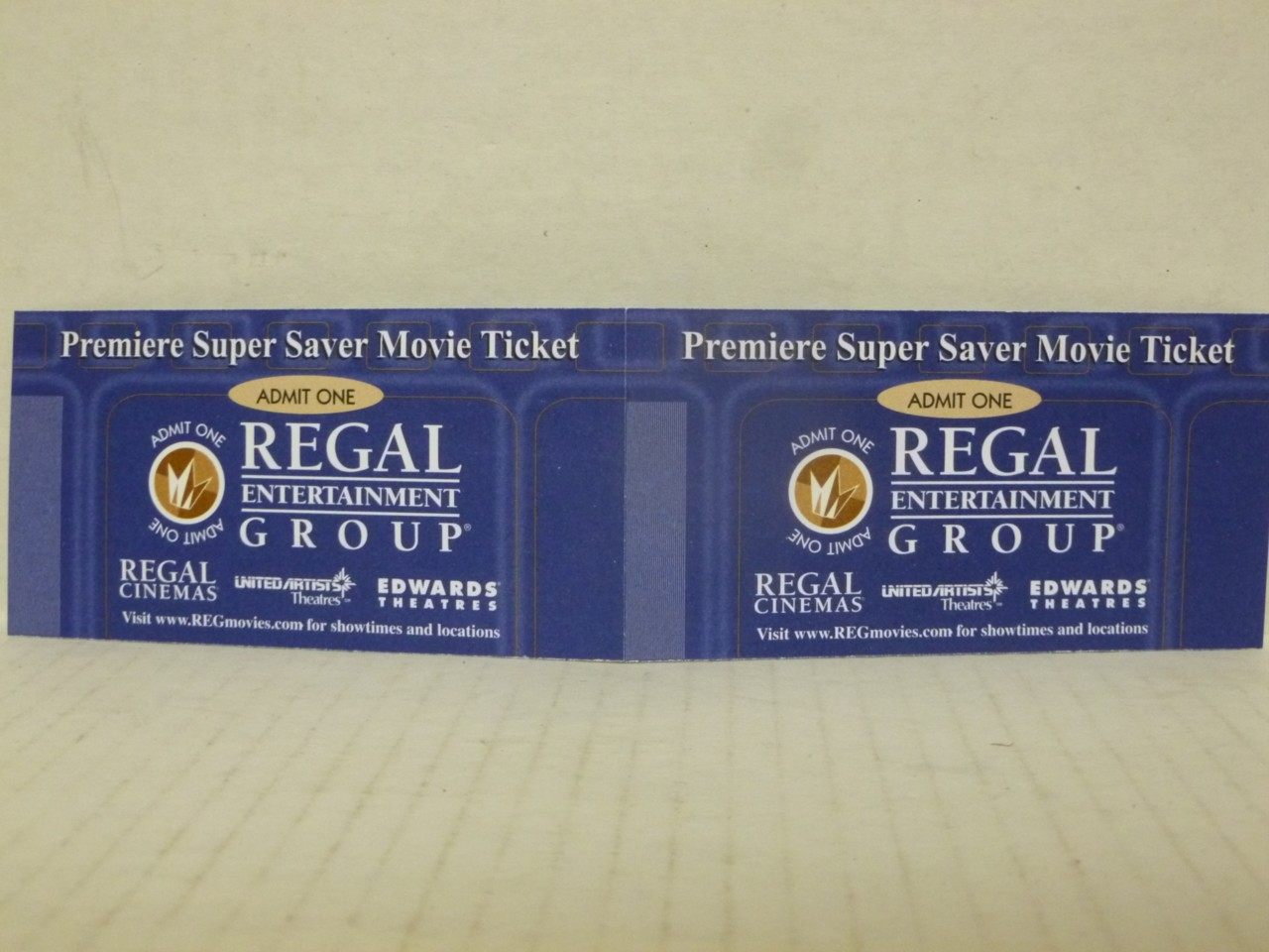 Home / Movie Theaters / Regal Cinema Premiere Supersaver Ticket. Regal Cinema Premiere Supersaver Ticket $ Regal Cinema Premiere Supersaver Ticket. Good for all shows, all times, all locations – No Restrictions – even Opening Night! Regular price: $ BBC Member price: $