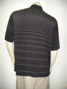 Nwt pebble beach performance polo golf shirt large for Moisture wicking golf shirts