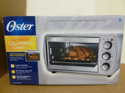 ... about NEW! Oster Convection Counter Top Toaster Oven TSSTTVCG02