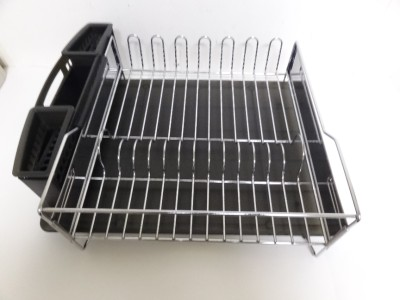 Kitchenaid Dish Drying Rack 3 Piece Black Dish Drainer