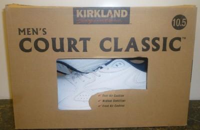 nib sneakers court classics kirkland signature mens