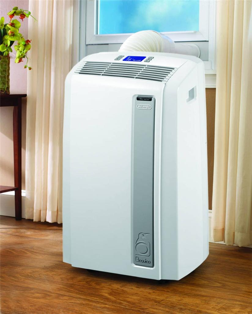 New delonghi pinguino 12 000 btu 4 in 1 portable room air for 12000 btu window air conditioner room size