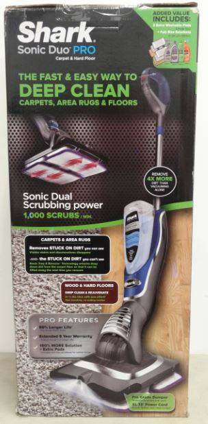 New Shark Sonic Duo Pro Carpet Amp Hard Floor Cleaner Model