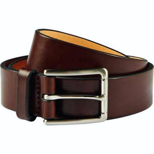 nwt kirkland mens grain italian leather belt black