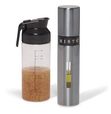 new misto tall olive oil sprayer and salad dressing shaker. Black Bedroom Furniture Sets. Home Design Ideas