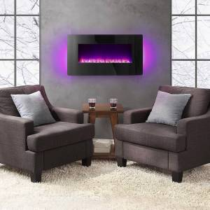 Nuevo Soporte Pared Bayside mobiliario Kenai chimenea eléctrica ...
