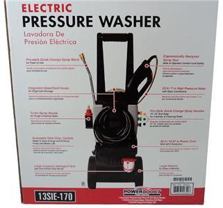 New Display Simpson Electric Pressure Washer 13sie 170