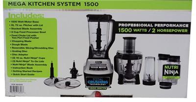 Ninja mega kitchen system bl773 1500w 2hp blender w nutri for Ninja bl773co mega kitchen system 1500w