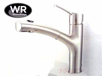Waterridge Pull Down Kitchen Faucet Brushed