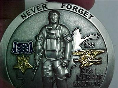 Navy Seal Lt Michael P Murphy Tribute Challenge Coin