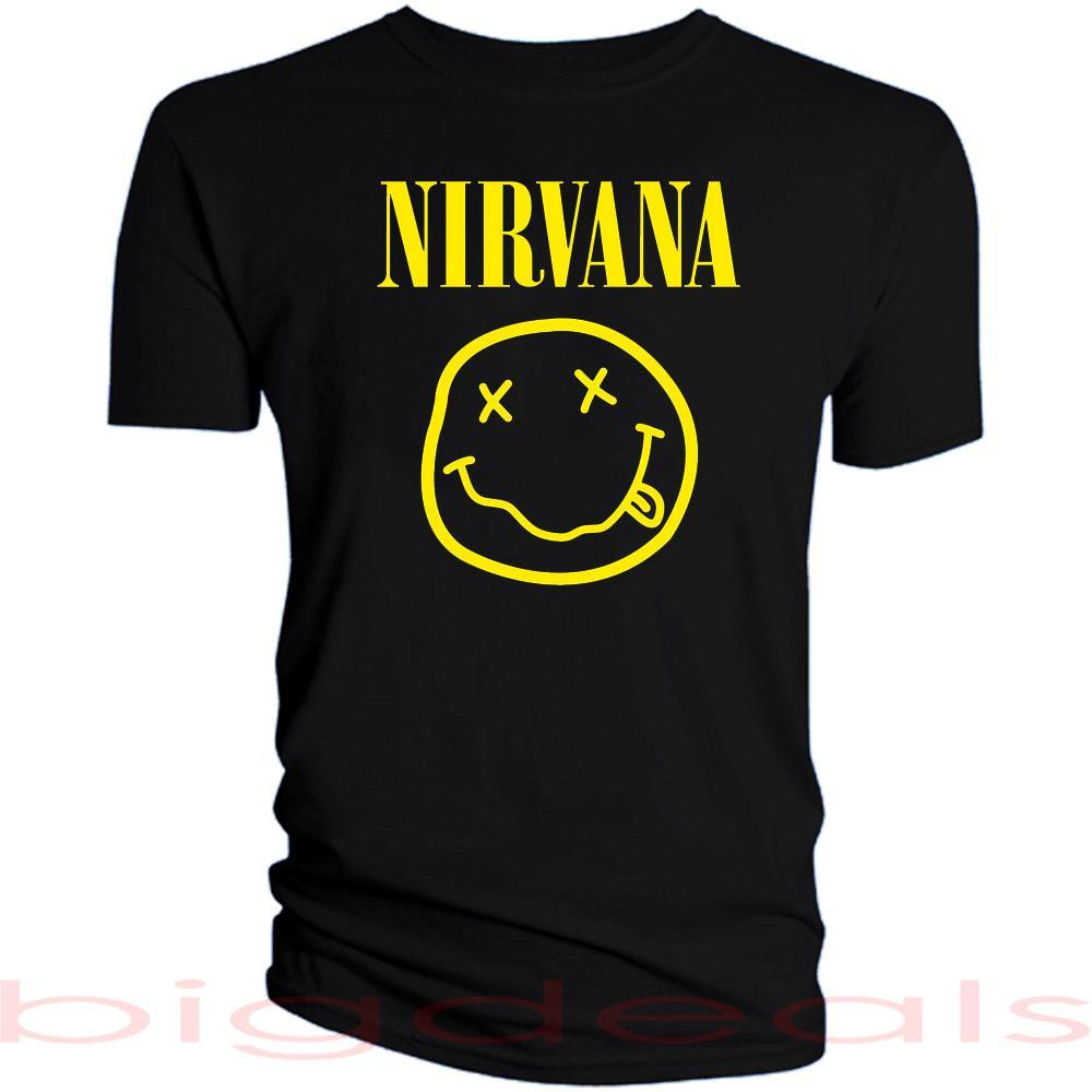 Nirvana smiley face shirt