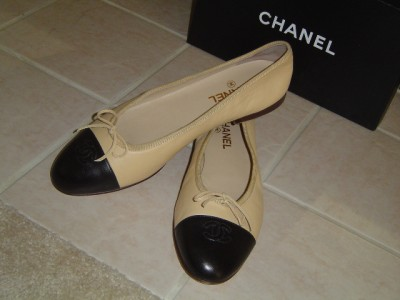 chanel flat shoes. chanel ballerina ballet flats shoes sz 11 41 $725 flat s